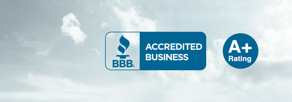 Better Business Bureau A-Plus Rating Banner